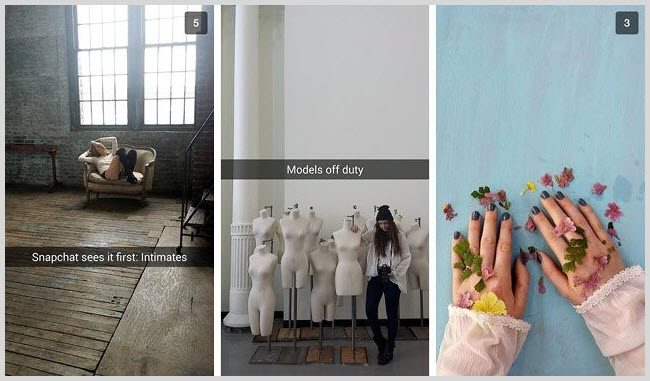 Free people snapchat marketing example