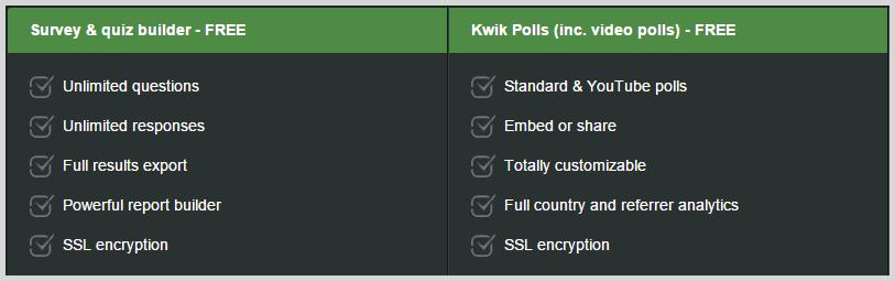 KwikSurveys screenshot