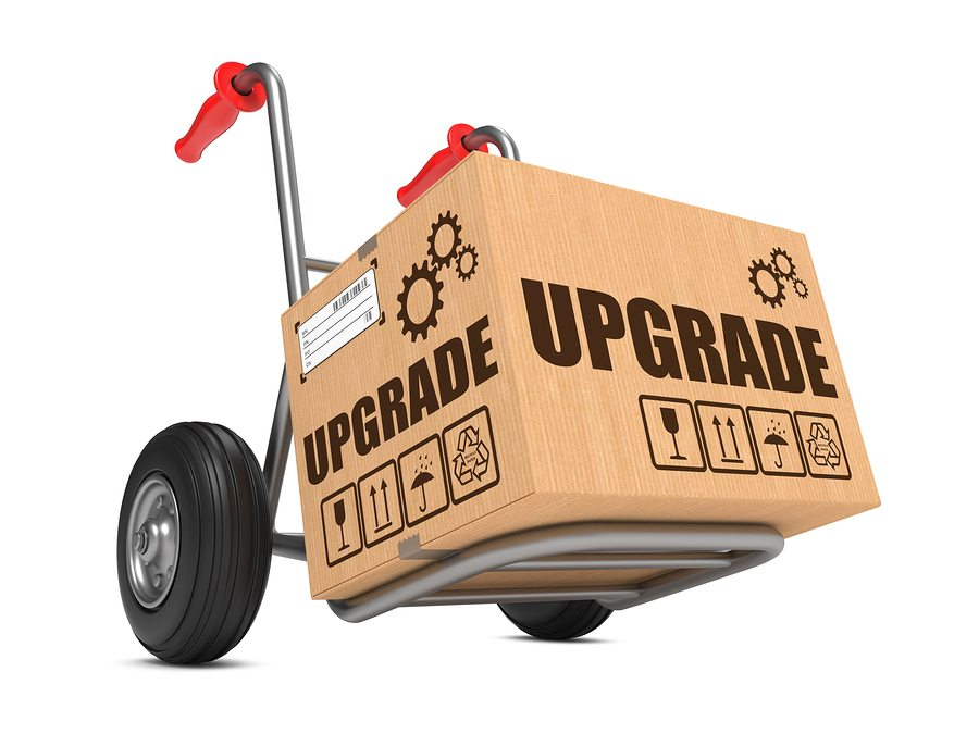 Tactic that increased email conversions - image of a box upgrad