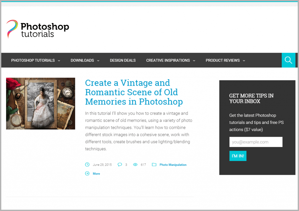 Photoshop Tutorials - sites that will pay you