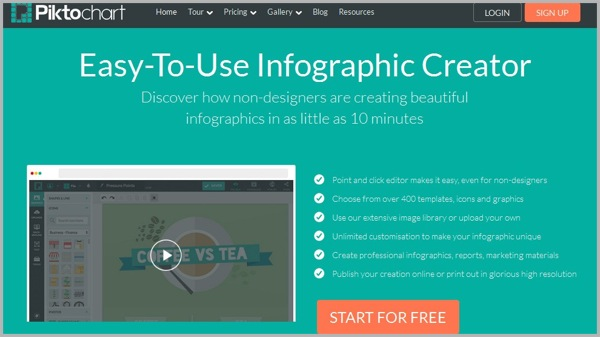Infographic Maker Guide: 20 Cool Infographic Creator Tools ...
