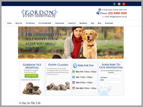 Gordon - Won't buy from your website