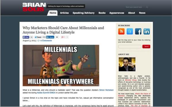 Brian Solis - Top 50 Marketing Blogs