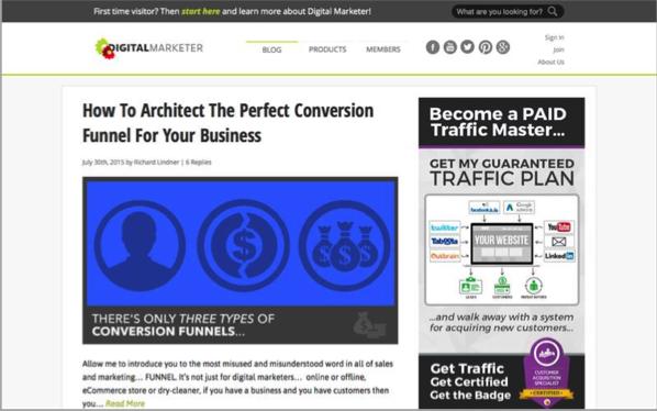 Digital Marketer - Top 50 Marketing Blogs