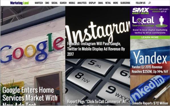 Marketing Land - Top 50 Marketing Blogs