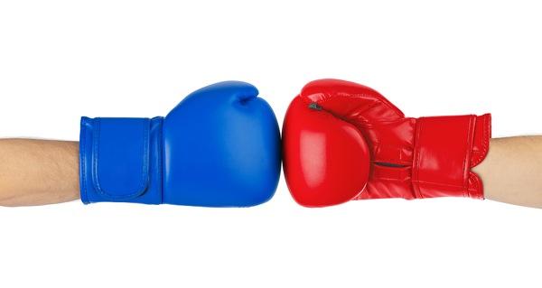 Search Vs Social boxing gloves image
