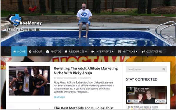 Shoe Money - Top 50 Marketing Blogs