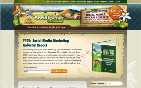 Social Media Examiner - Top 50 Marketing Blogs