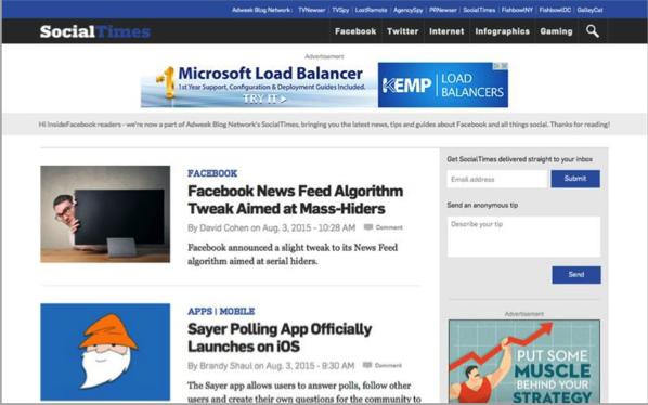 Social Times - Top 50 Marketing Blogs