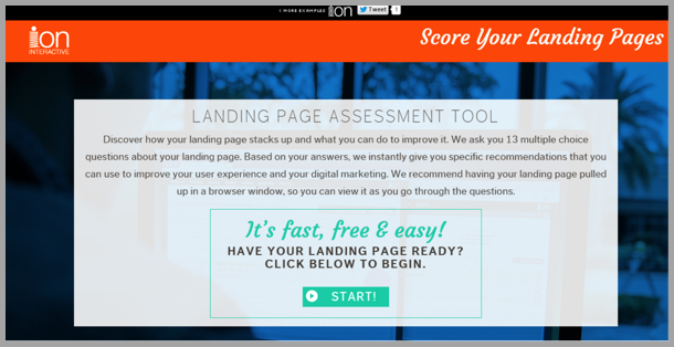 best converting landing pages