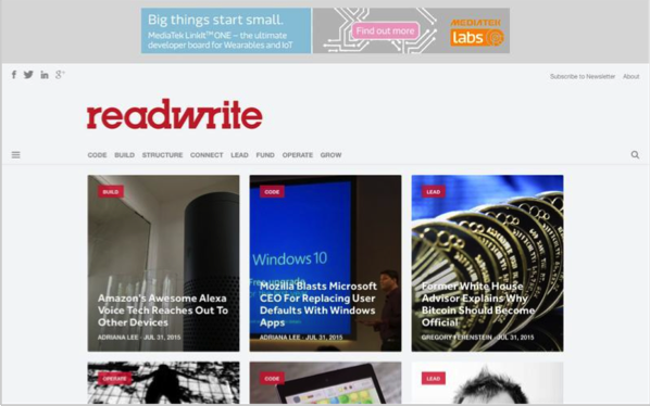 readwrite - Top 50 Marketing Blogs