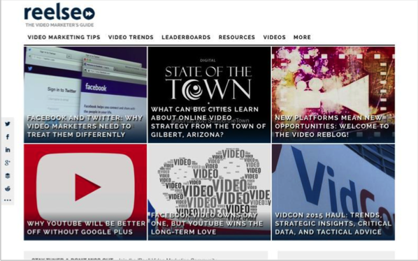 reelseo - Top 50 Marketing Blogs