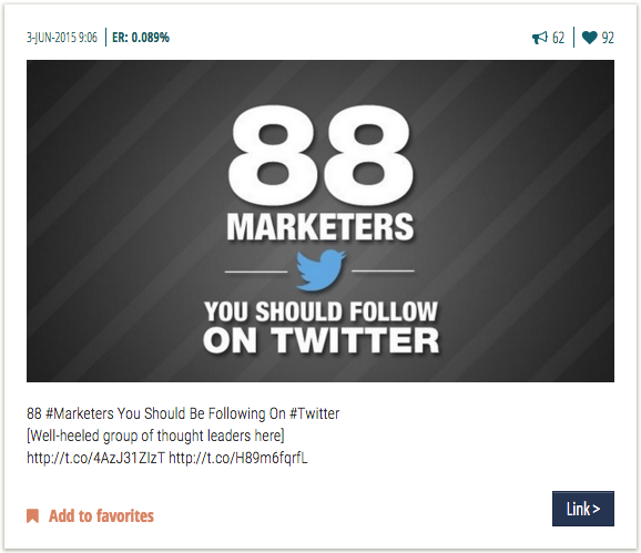 Jay Baer - share great content on Twitter
