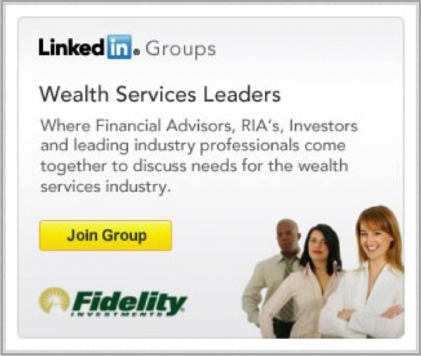 Linkedin Group for how to advertise your business on linkedin