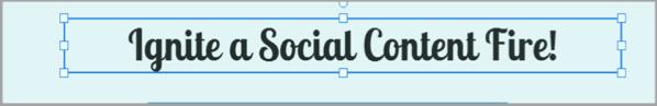 Sweet blue 4 social media content