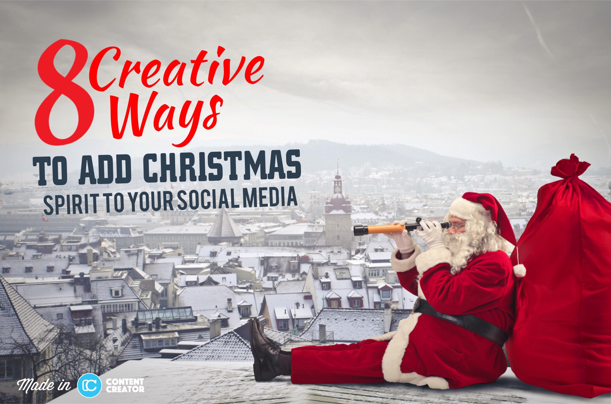 8 Creative Ways To Add Christmas Spirit Your Social Media
