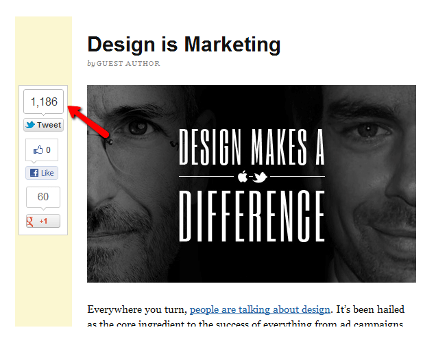 Design makes a difference - tips for blog post writing