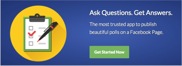 Facebook polls example of perfect lead magnet