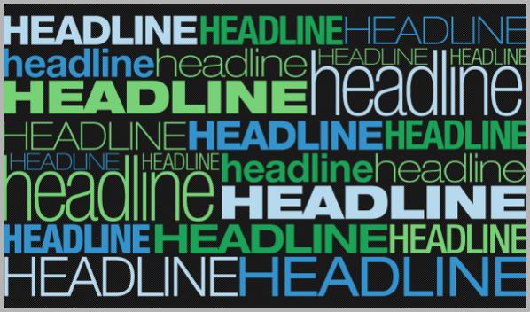 Headlines - tips for blog post writing