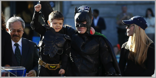 Bat kid - example of best Facebook marketing campaigns