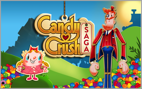 Candy Crush - example of best Facebook marketing campaigns
