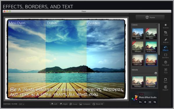 Fotor - blogging tools for custom content