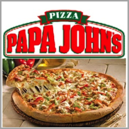 Papa John's - example of best Facebook marketing campaigns