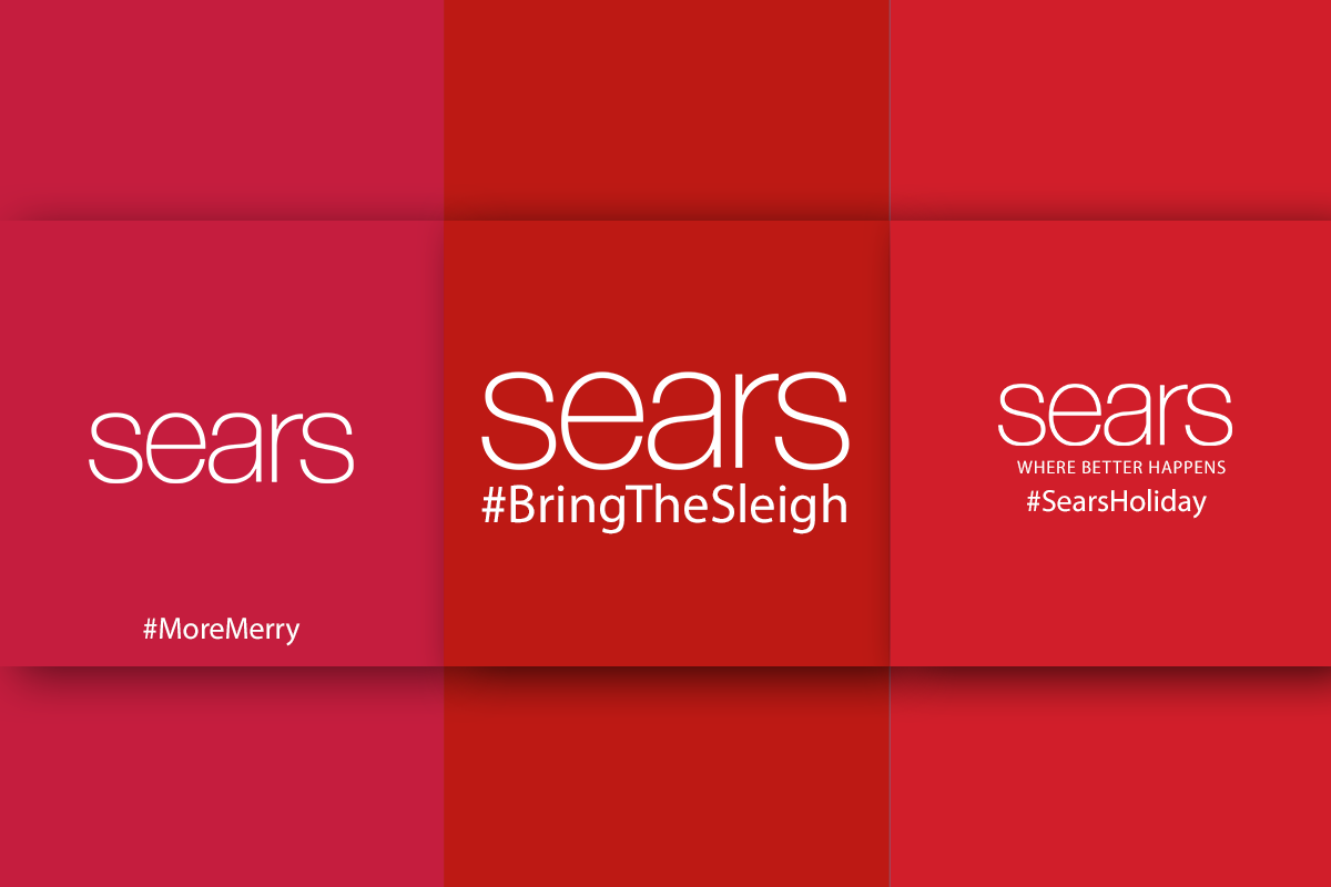 Sears - christmas spirit to your social media