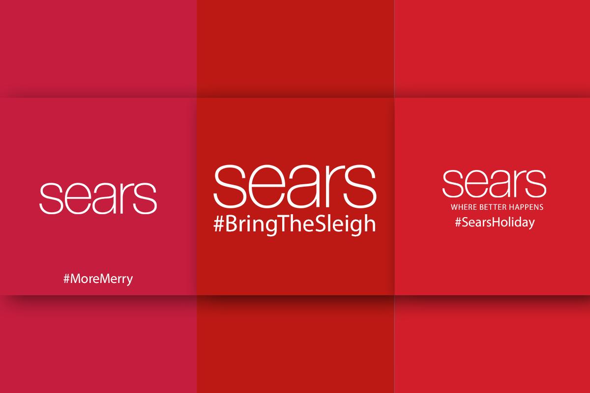Sears - christmas spirit to your social media