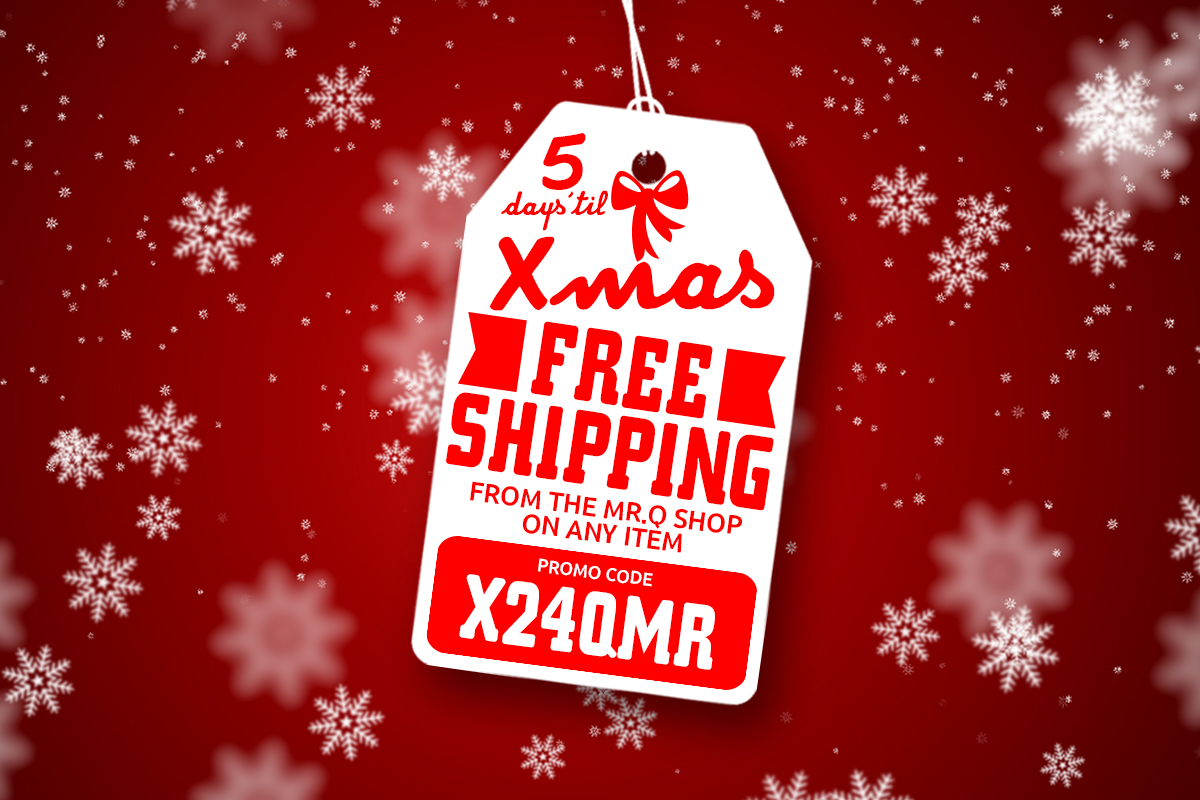 free shipping christmas spirit to your social media