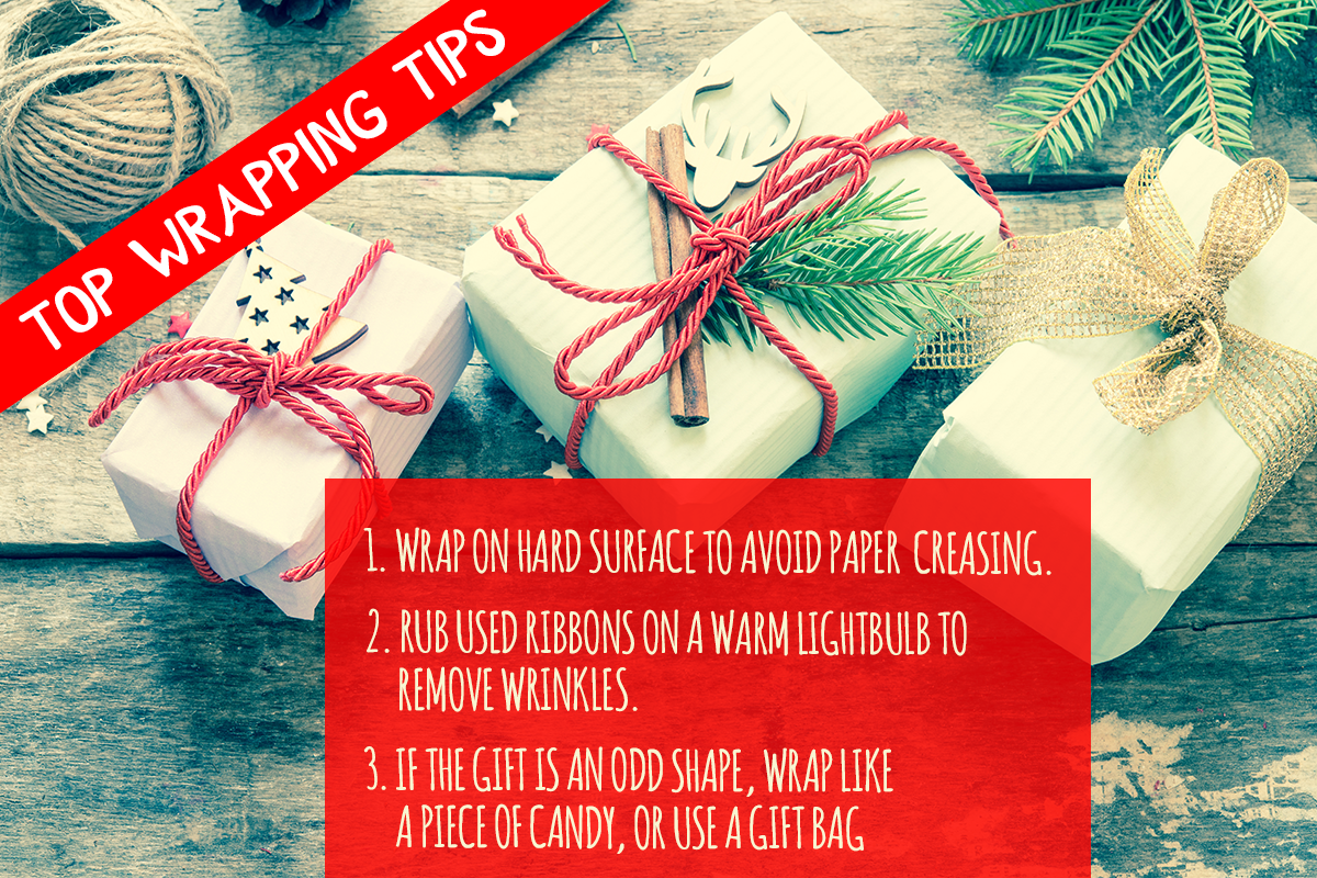 Wrapping tips - christmas spirit to your social media