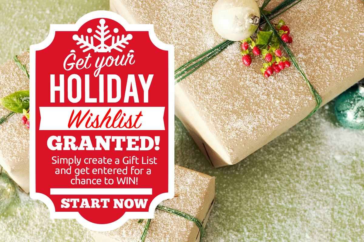 Wishlist granted - christmas spirit to your social media