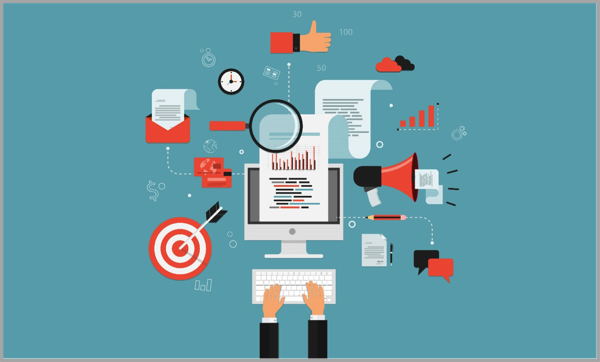 Data image for content marketing that converts