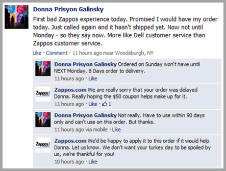 Donna Prisyon Galinsky Example Of Using Customer Reviews