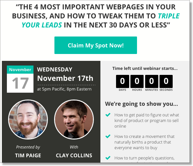 Leadpages JV for lead building
