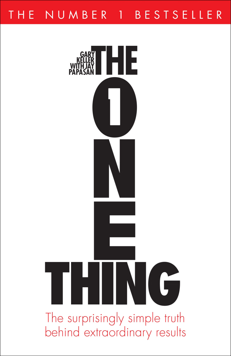 One thing book cover image