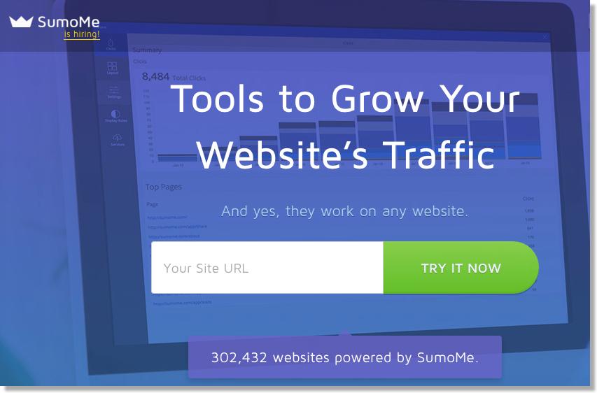 sumome homepage