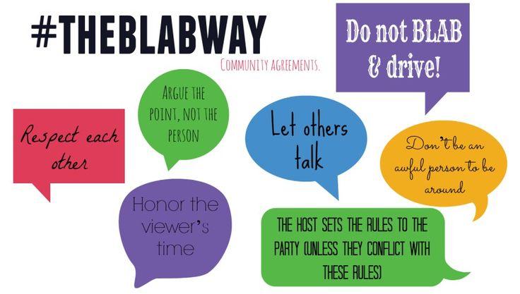 Blab rules