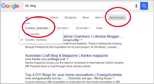 DIY blog example SEO for local businesses