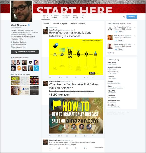 Mark - how to use influencer marketing
