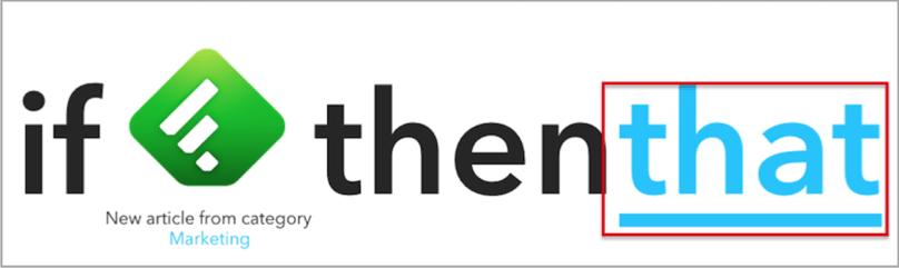 IFTT 8 - Twitter apps example