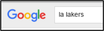 LA Lakers Google - trend for SEO in 2016