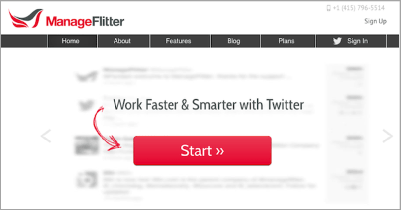 ManageFlitter - Twitter apps example