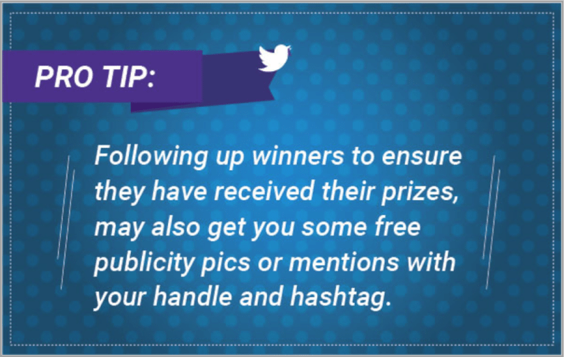Pro tip 5 - Twitter event