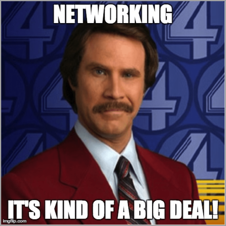 Ron Burgundy image for interactive conference