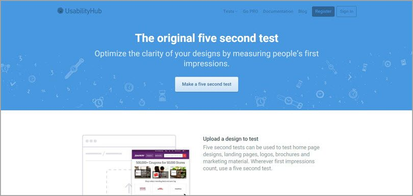 5 second test image for conversion rate