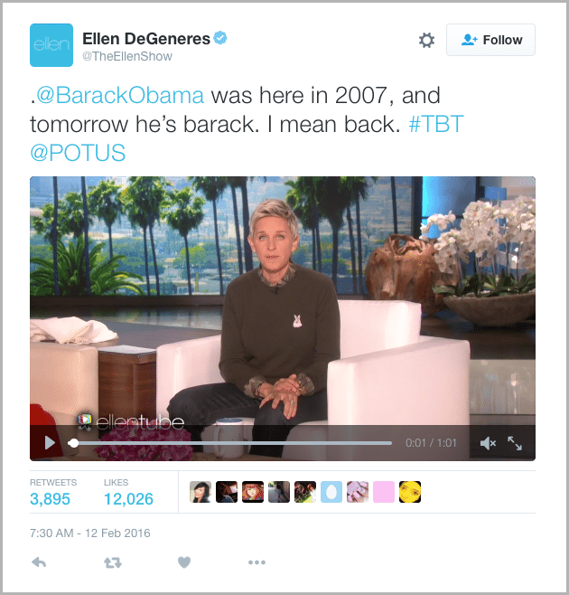 Ellen Tweet - marketing acronyms