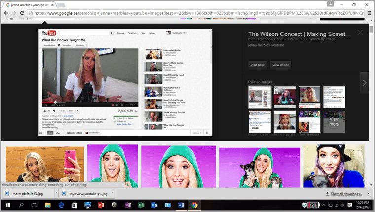Jenna Marbles 2 - getting fame through youtube
