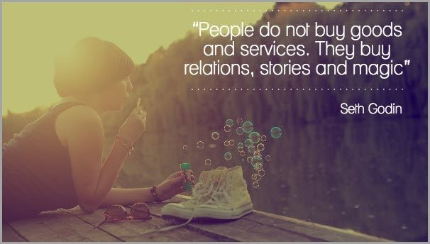 People buy into people - not companies for LinkedIn