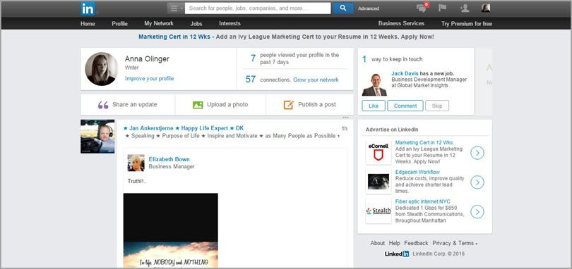 linkedin image for conversion rate